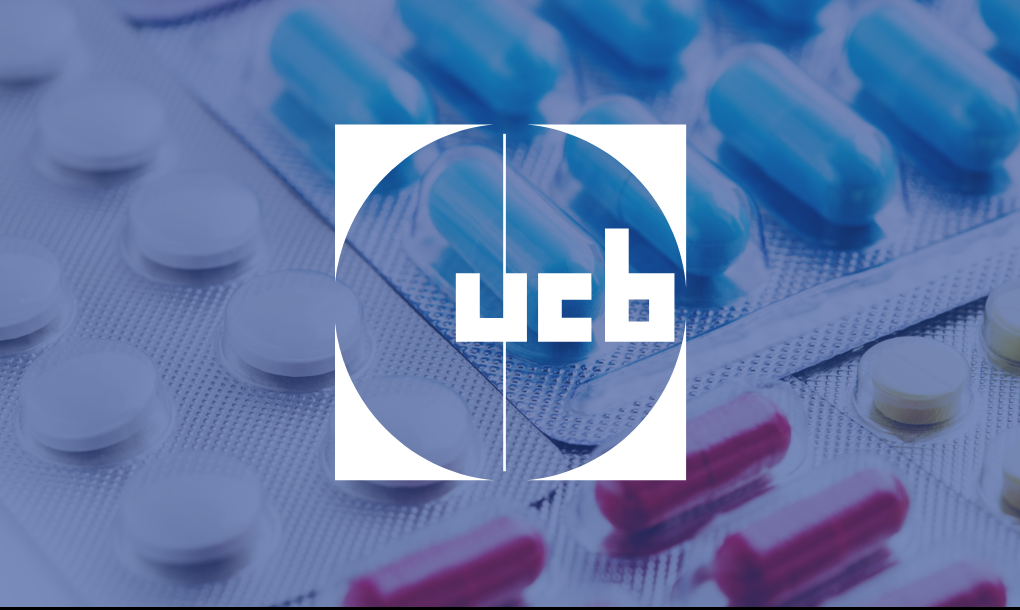 Pill packets with the UCB logo