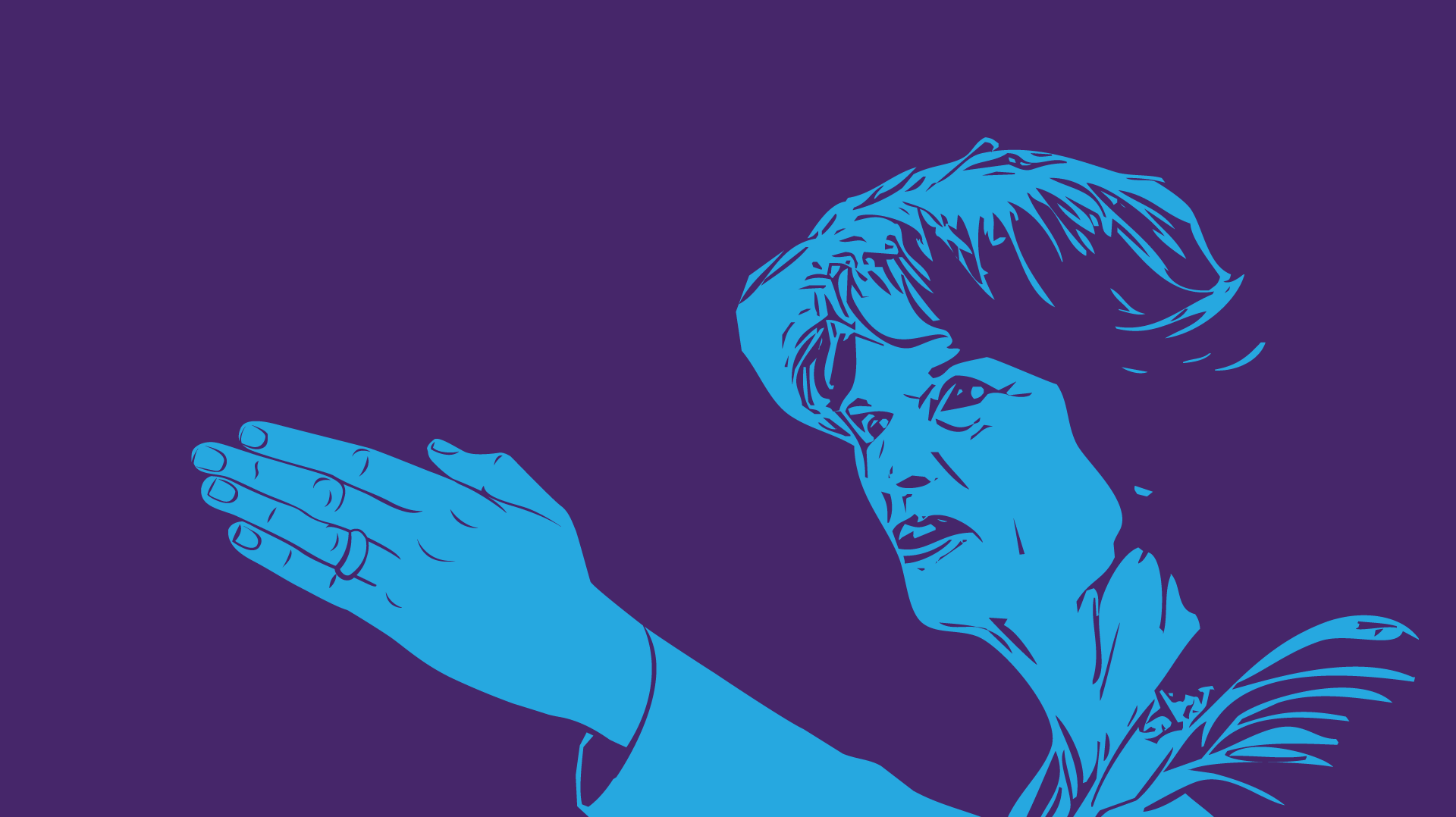 Illustration of Senator Lisa Murkowski